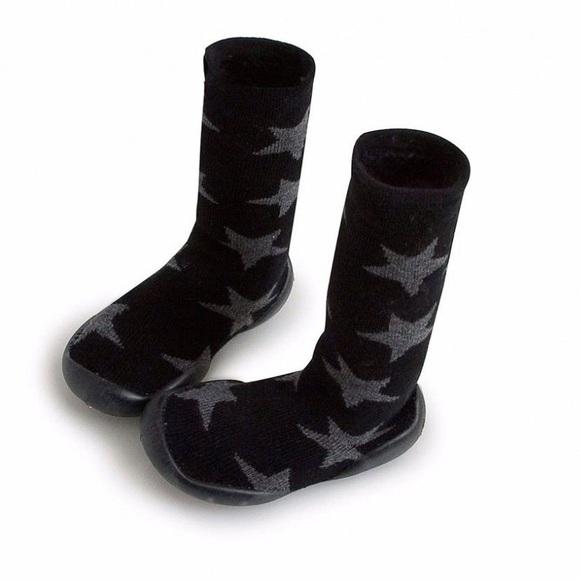 0a3b052e73d NUNUNU+Collégien knee-highs star slippers NWT
